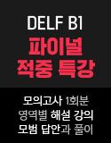 DELF B1 파이널 특강