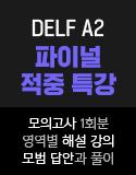 DELF A2 파이널 특강